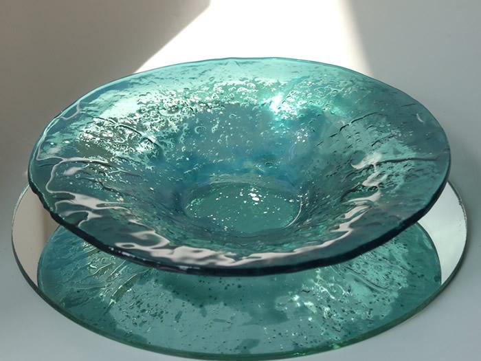 Blue Green Bowl 37